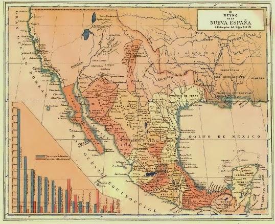 Cartografía de la Nueva España a inicios del siglo XIX