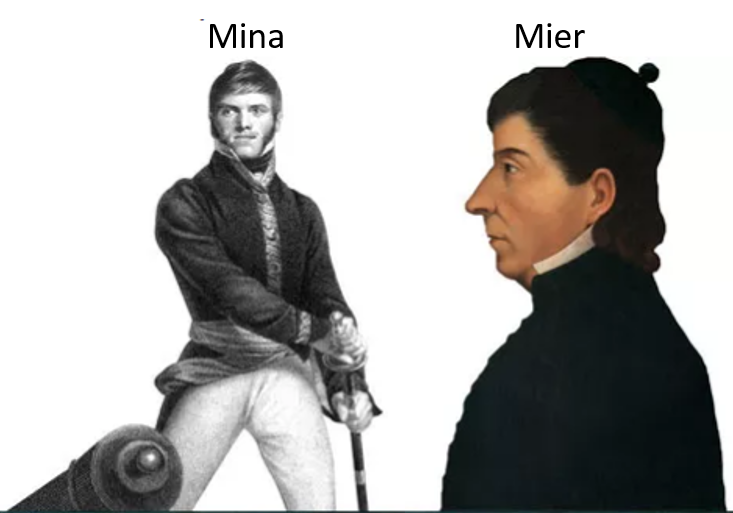 Xavier Mina; español insurgente. Parte I